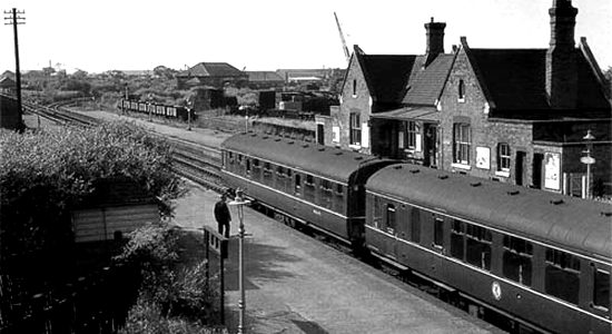 Aldridge Station 1964 (Michael Mensing)