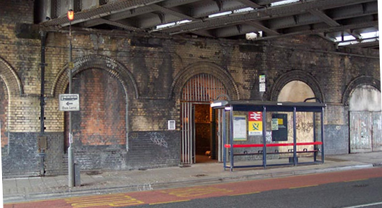 Bordesley station Coventry Road entrance