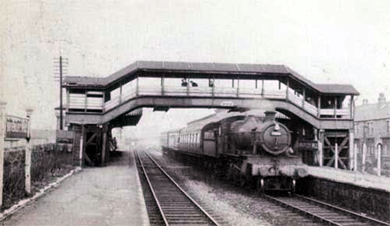 Brierley Hill station 1961 (photo: Jon Dew)