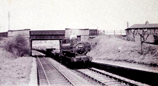 Brockmoor Halt 1956 (John Dew)