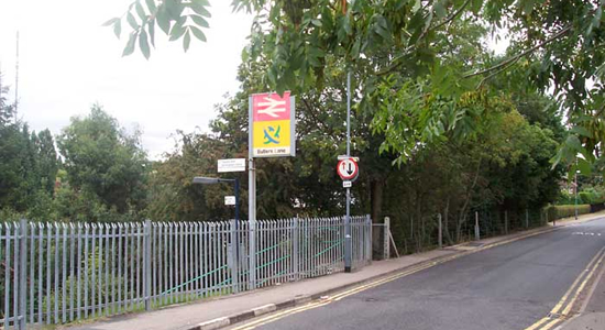Butlers Lane station entrance