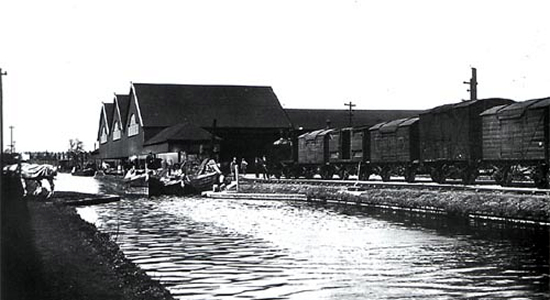 Cadbury Railway & (Waterside) Wharf, Bournville