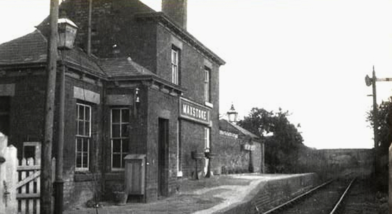 Coleshill station as Maxstoke station, 1933 (Don Powell Collection)