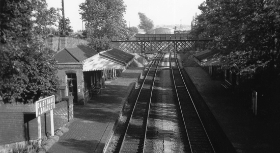 Daisy Bank station 1962(KRM)