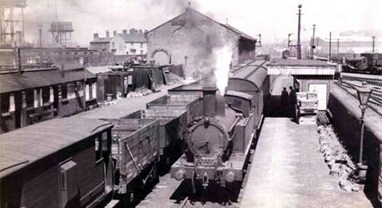 Great Bridge North station 1950 (John Edgington)