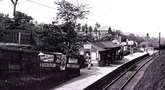 Hagley Road station 1913