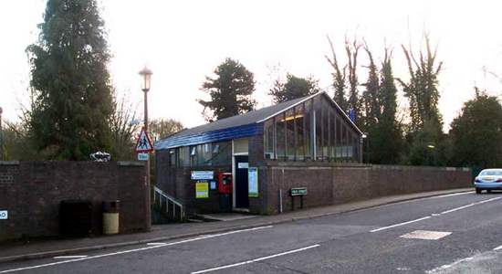 Hampton-in-Arden station building