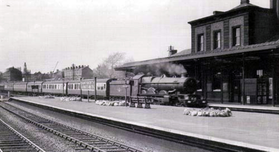 Handsworth & Smethwick station 1957 (John Edgington)