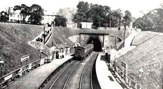 Handsworth Wood station (Birmingham Libraries)