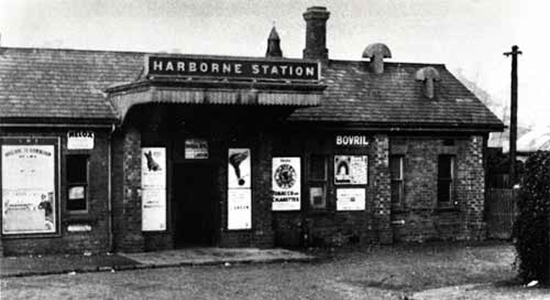 Harborne station 1934
