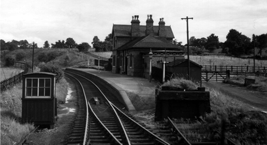 Hunnington station 1953 (DJ Norton)