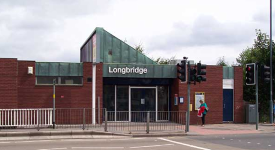 Longbridge station booking office