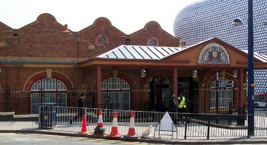 Chiltern Railway's revamped Moor Street station