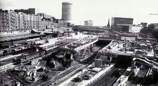 New Street rebuilding, 1965 (British Rail)