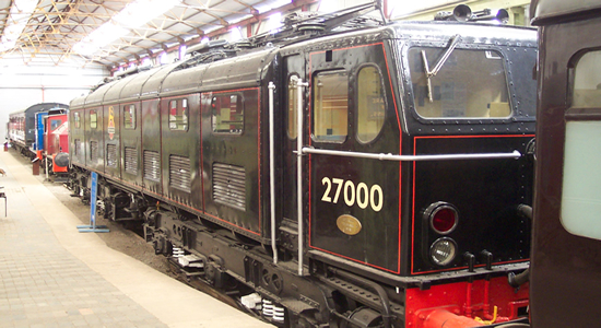 E27000 Electra at the Midland Railway Museum, Butterley