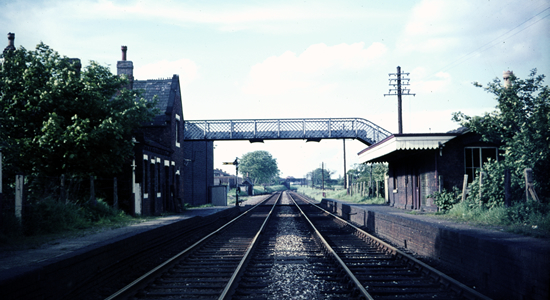 Pelsall station 1967 (David Bathurst)