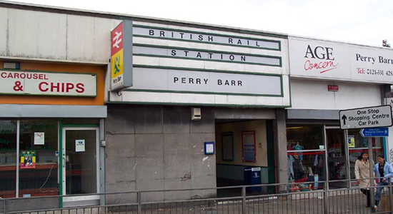 Perry Barr Station