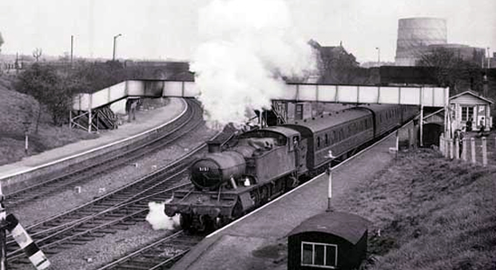 Priestfield station 1960 (Michael Mensing)