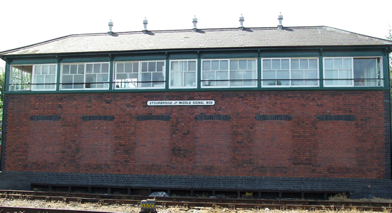 Stourbridge Junction Middle Signal Box