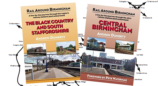 Rail Around Birmingham Volumes 1 & 2