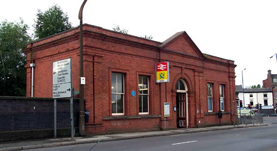 Smethwick Rolfe Street station booking office