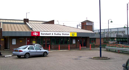 Sandwell & Dudley station booking hall