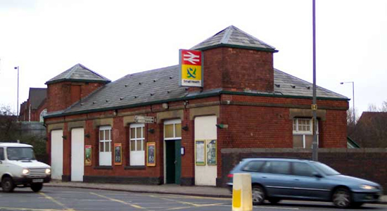 Small Heath station booking office