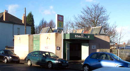 Stechford station booking office