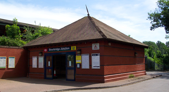 Stourbridge Junction station booking office