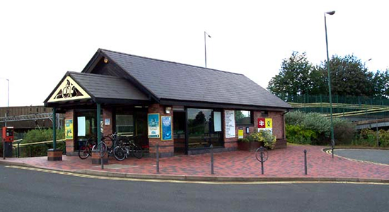 Tame Bridge Parkway station booking office
