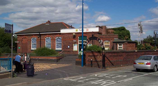 Tipton station booking office
