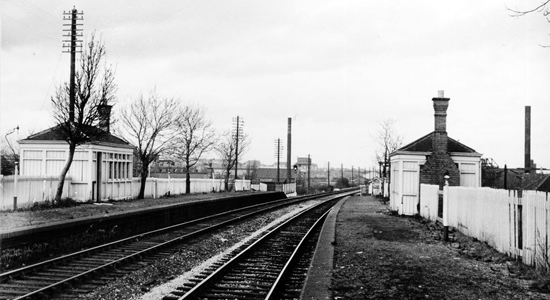 Tipton Five Ways station 1962 (PJ Garland Collection)