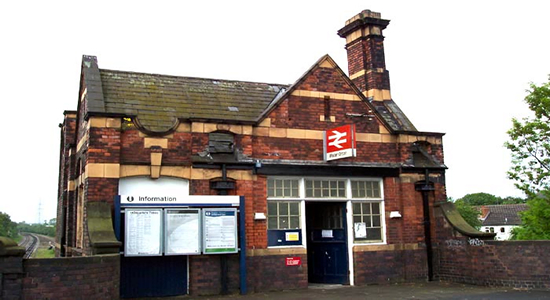 Water Orton station booking office