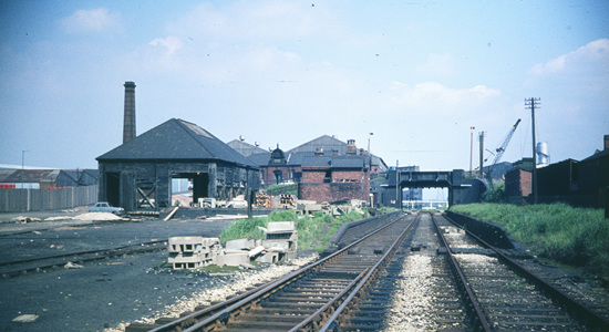 Wednesfield Station 1968 (David Bathurst)