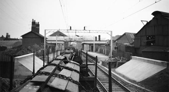 Willenhall Station 1965 (David Bathurst)