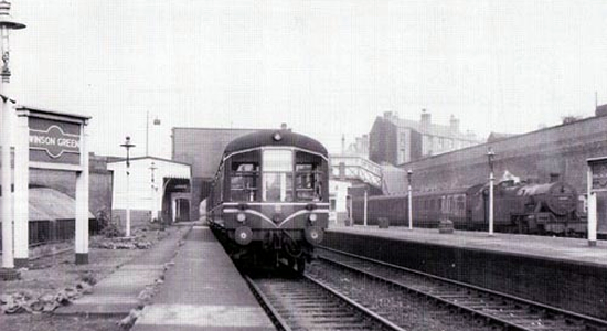 Winson Green station 1955 (Roger Carpenter collection)