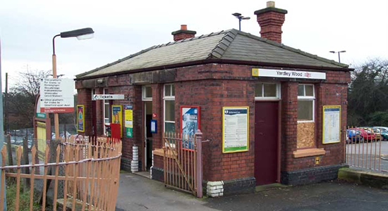 Yardley Wood station booking office