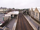 Ryde St Jonh's Road station from footbridge