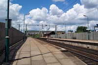 Bescot Stadium station from Walsall platform