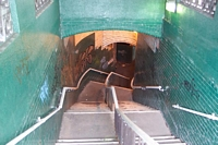 Staircase from platform to Coventry Road