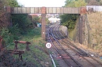 Brettell Lane station towards Brierley Hill