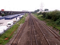 Bromford Bridge station to Water Orton