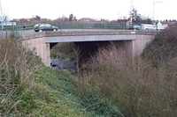 Original A452 bridge arch