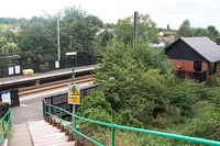 Butlers Lane station building