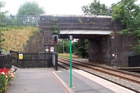 Butlers Lane station towards Four Oaks