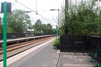 Butlers Lane station towards Blake Street