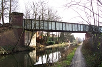 Cadbury Railway bridge