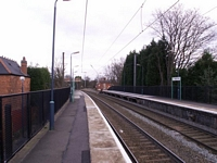 Chester Road station towards Wylde Green