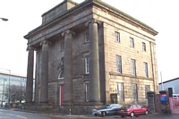 Curzon Street station building, New Canal Street
