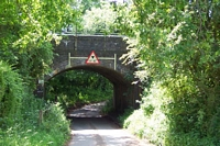 Cutnall Green halt New Road bridge